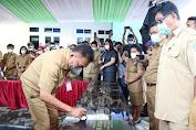 Gubernur Olly Resmikan Gedung Kuliah Terpadu Proyek SBSN Tahun 2020 Politeknik Negeri Nusa Utara (Polnustar)