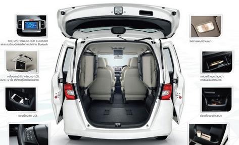 Honda Freed All New Terbaru 2015 Dan Desain Interior