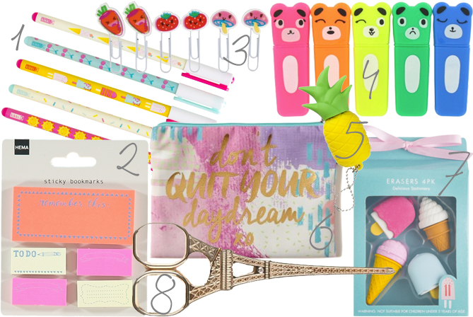 Cute Back To School Stationery Must Haves 2017