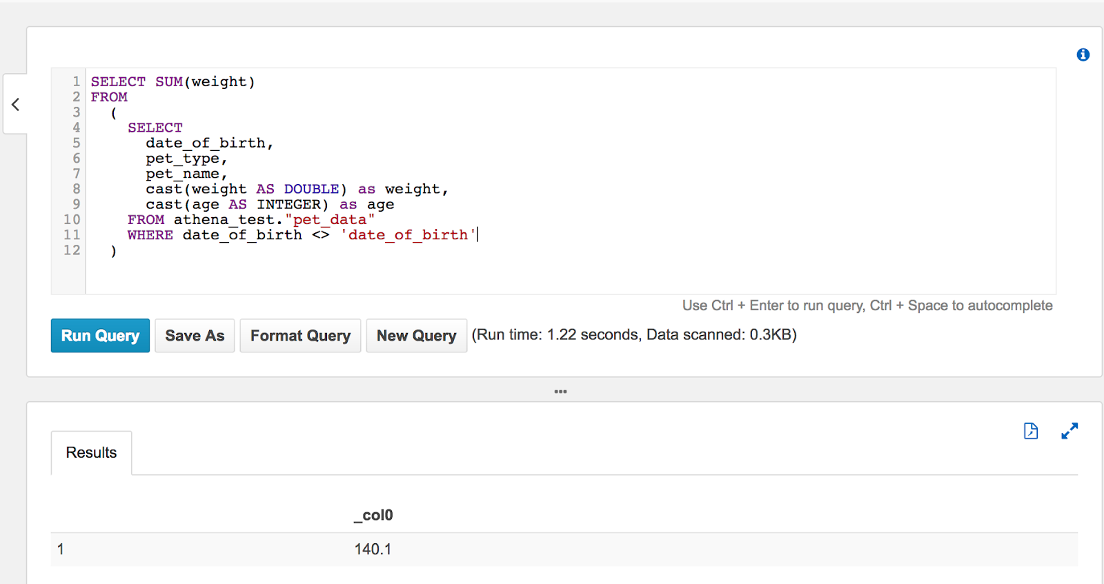 Dev Daily Hash: Using AWS Athena to query CSV files in S3