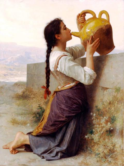 Адольф Вильям Бугро - Жажда (1886)