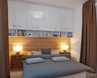cuarto pequeño moderno