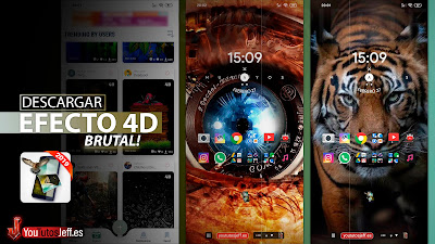 activar efecto 4d android