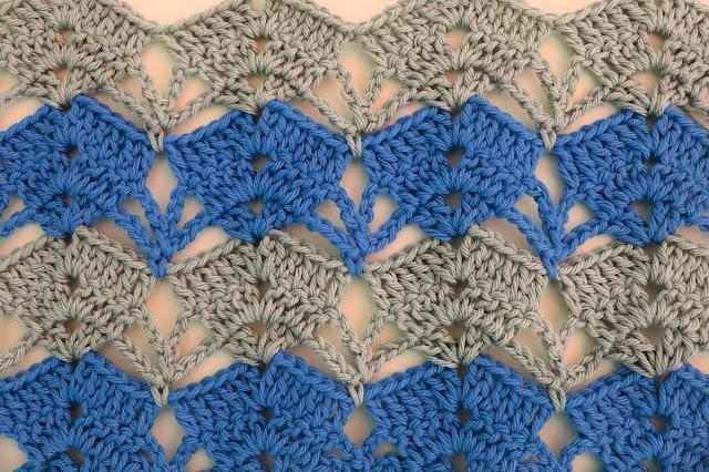 4 - Crochet Imagen puntada calada de verano a crochet y ganchillo por Majovel Crochet paso a paso DIY sencillo fácil
