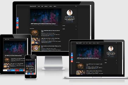 Gratis Template Blogger Versi AMP yang Digunakan Blog BosHJN