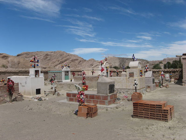 cemetery along Ruta 40, Argentina