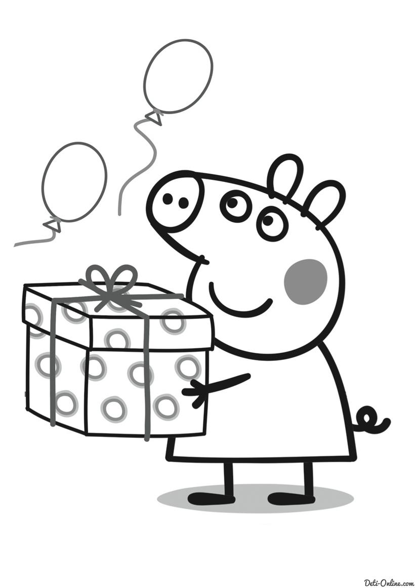 Mi colección de dibujos: Peppa Pig dibujos para colorear