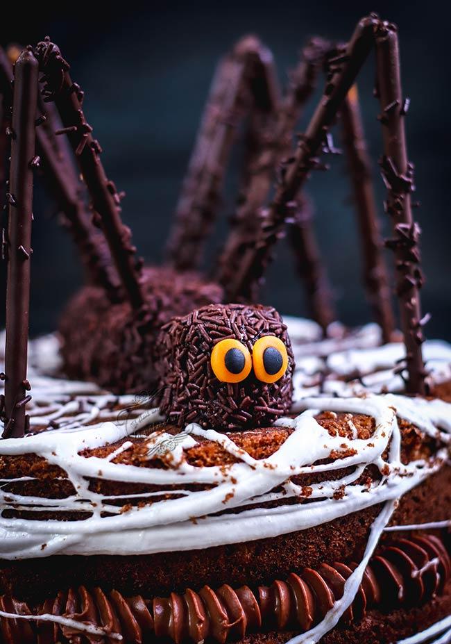 gateau araignée pour halloween