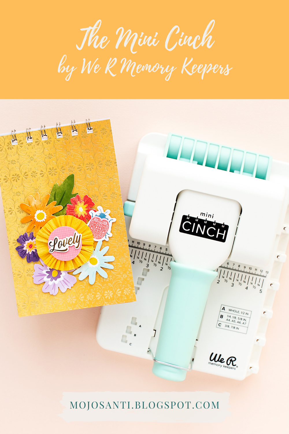 Create easy mini albums with the Mini Cinch by We R Memory Keepers