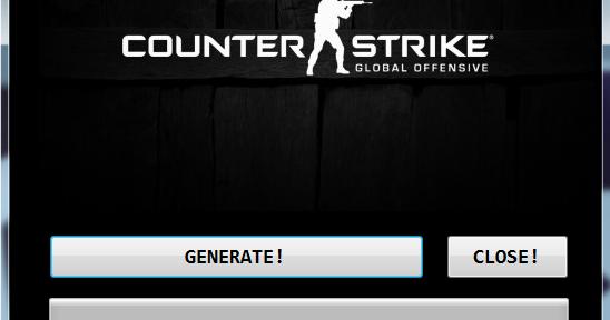 Super Hack Game 365!: Counter-Strike Global Offensive - Generator