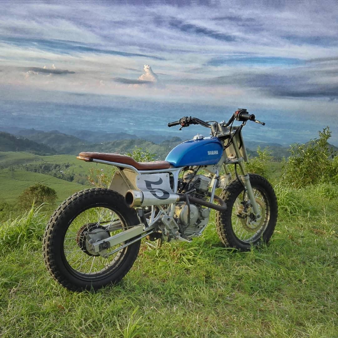 Yamaha Scorpio Motor Custom Tracker