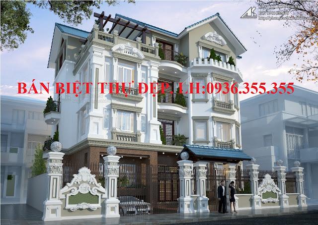 Bán biệt thự Trần Kim Xuyến, Yên Hòa giá rẻ