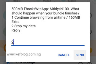 How to subscribe Airtel social bundle 500mb for N100