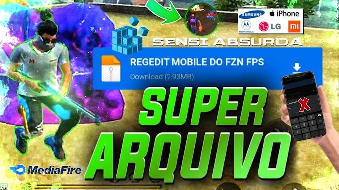 DOWNLOAD NOVO REGEDIT FREE FIRE ARQUIVO REGEDIT ATUALIZADO, REGEDIT MOBILE