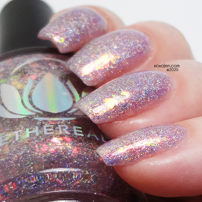 xoxoJen's swatch of Ethereal Skyfrost