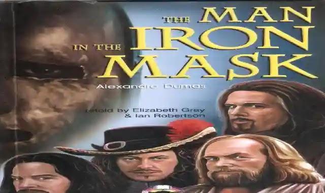 قصة الرجل ذو القناع الحديدى The man in the iron mask مع اسئلة واجابات نموذجية عليها