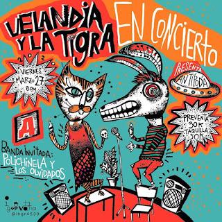 Concierto de VELANDIA Y LA TIGRA en Bogotá 2020