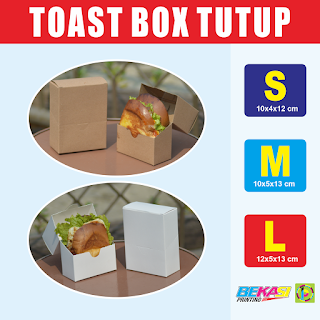 TAKE AWAY TOAST BOX