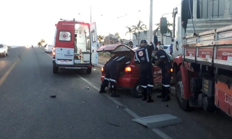 Acidente deixa duas pessoas mortas e uma ferida na BR-030 em Guanambi