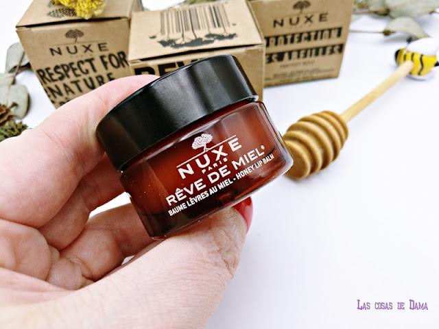 Nuxe Ediciones Limitadas bálsamo de labios Revé de Miel lip balm beauty farmacy belleza