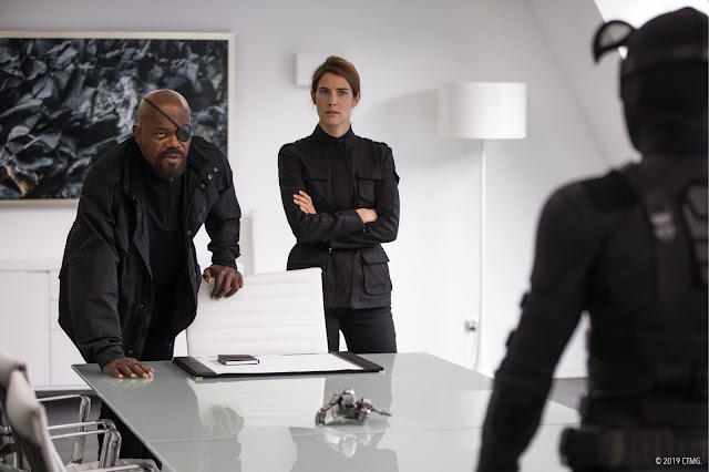 Nick Fury Marvel Agents of S.H.I.E.L.D. Spider-Man Far From Home