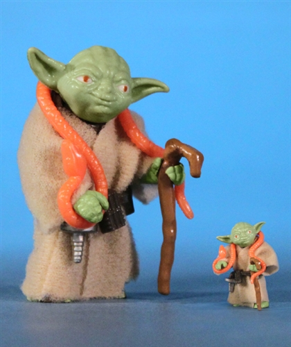 Yoda with Orange Snake 6 Inch Jumbo Vintage Kenner Star Wars Action Figure by Gentle Giant