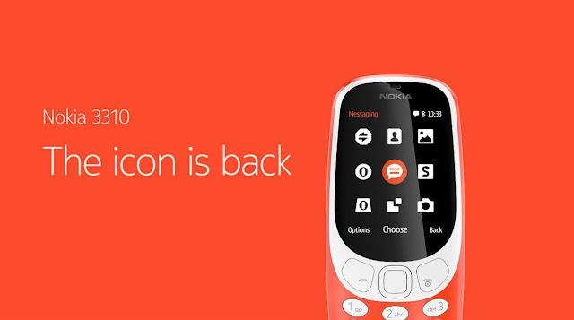 Resmi Dirilis Nokia 3310 4G