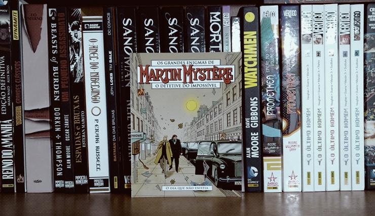 Resenha da HQ Martin Mystère: O dia que não existia