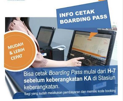 Asik! Cetak Tiket Boarding Pass Sekarang Bisa H-7