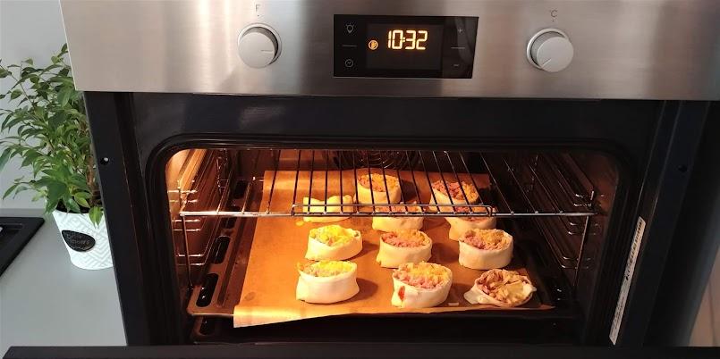 Kolacja w 15 minut - ślimaki z ciasta francuskiego  + FILM