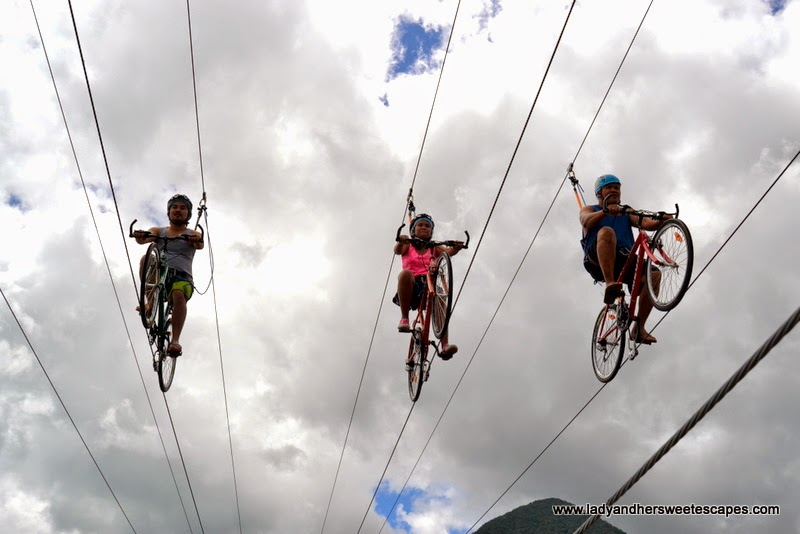 sky bikers at Campuestohan Highland Resort