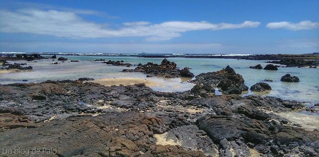 Charcos naturales playas en Lanzarote