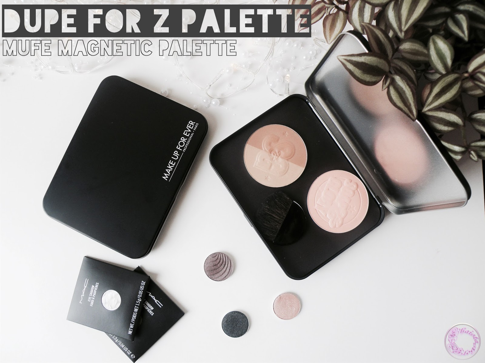 MUFE Empty Magnetic Palette Review (Possible dupe for Z Palette!!!)