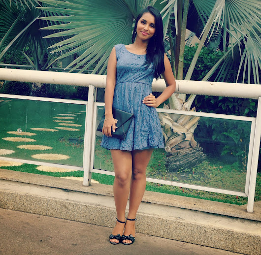 Look do dia: Vestido de renda ღ