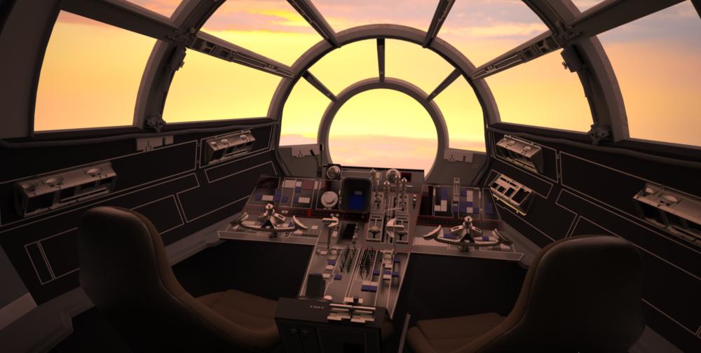 cockpit cloud city - photo #10