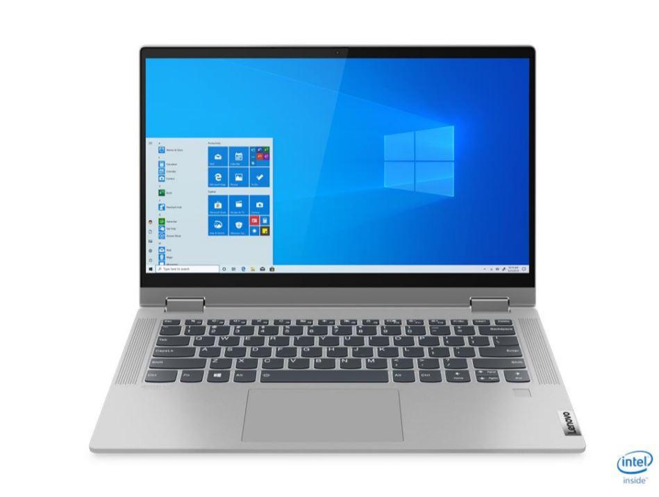 Lenovo IdeaPad Flex 5 68ID, Laptop Hybrid Mainstream Bertenaga Intel Core i5-1035G1