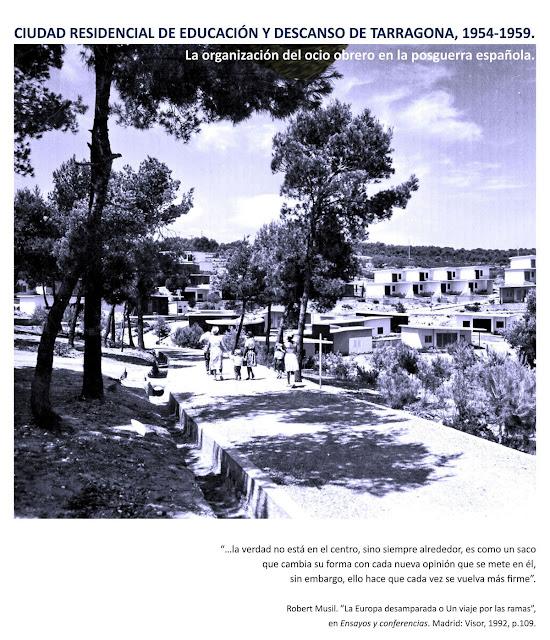 el presente trabajo desarrolla una sobre la ciudad residencial de tarragona una obra poco conocida inscrita en la del ocio