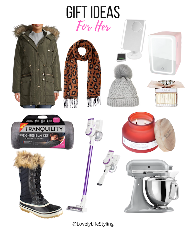 Walmart gift ideas for her