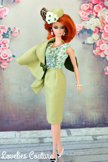 ooak silkstone vintage barbie couture fashion
