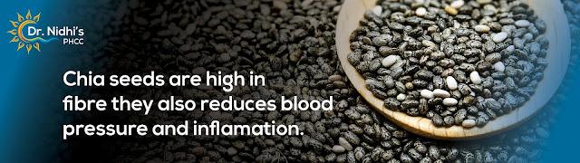 how chia seeds help reduce blood pressure.