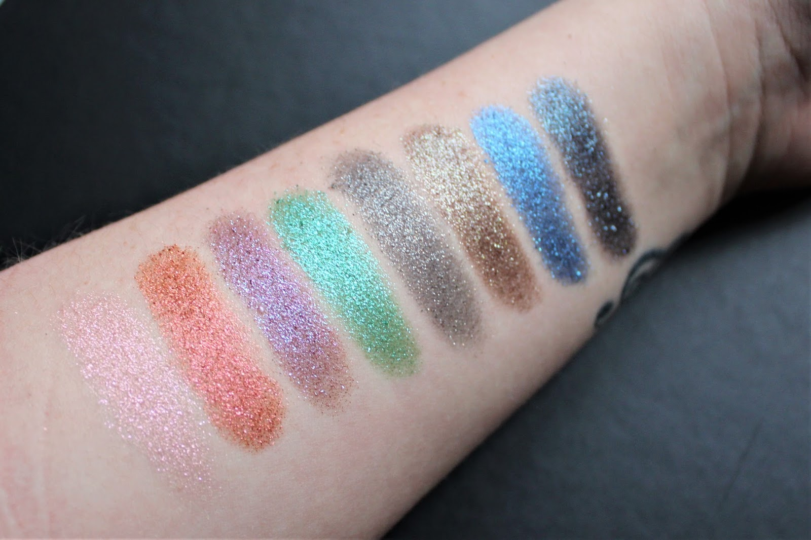 urban decay moondust palette swatches