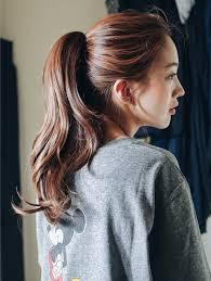 Tóc đuôi ngựa cực đáng yêu