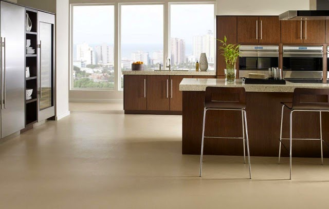 Materials for Kitchen Floors - AyanaHouse