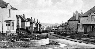 Old Photograph Warden Road Knightswood Glasgow Scotland