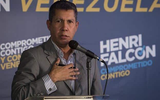 """Partidarios de Henri Falcón crean nueva plataforma opositora """"más democrática"""""""