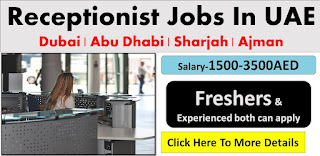 Female Receptionist Required in Automobile Industry Sharjah