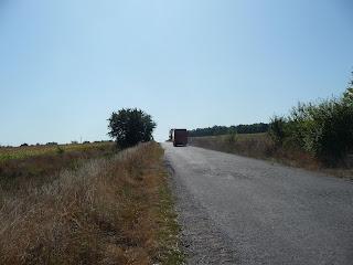 Браїлів. Дорога на залізничну платформу «Козачівка»