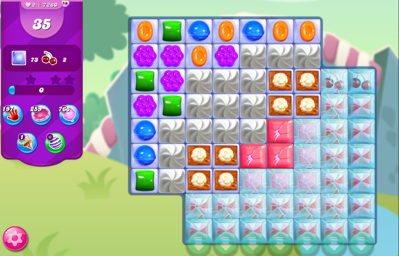Candy Crush Saga level 7255