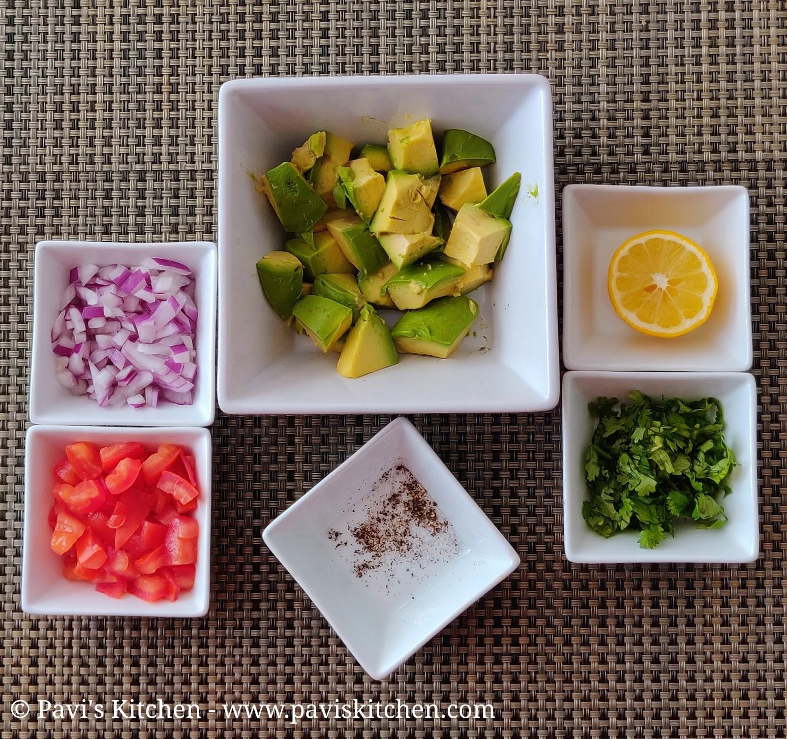Homemade Guacamole Dip Recipe | Avocado Mash Recipe