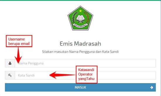 Cara Melengkapi Data Profil Detail PTK Di Emis Madrasah